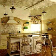 Фотография: Кухня и столовая в стиле Кантри, Цвет в интерьере, Стиль жизни, Советы – фото на InMyRoom.ru