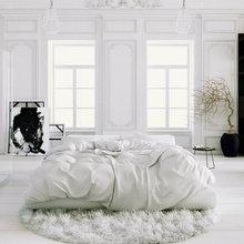 Фотография: Спальня в стиле Кантри, Скандинавский, Интерьер комнат, Цвет в интерьере, Советы – фото на InMyRoom.ru