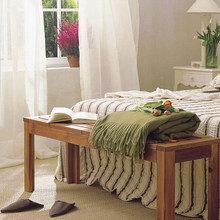Фотография: Спальня в стиле Кантри, Декор интерьера, Мебель и свет – фото на InMyRoom.ru