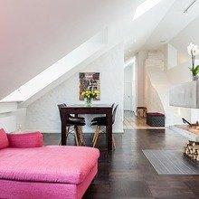 Фотография: Гостиная в стиле Кантри, Декор интерьера, Квартира, Дома и квартиры, Пентхаус, Стокгольм, Мансарда – фото на InMyRoom.ru