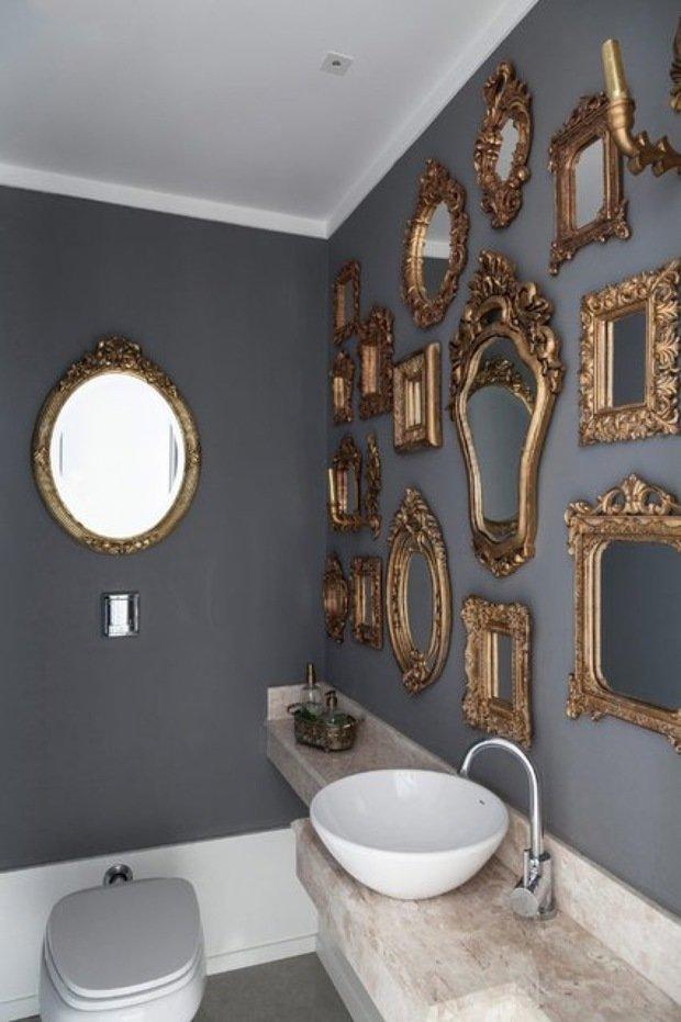 Фотография: Ванная в стиле Прованс и Кантри, Декор интерьера, Декор дома – фото на InMyRoom.ru