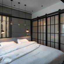 Фотография: Спальня в стиле Лофт, Квартира, Проект недели, Денис Соколов, SVOYA STUDIO – фото на InMyRoom.ru