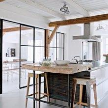 Фото из портфолио Фермы в Нидерландах превращаются в современные дома – фотографии дизайна интерьеров на InMyRoom.ru
