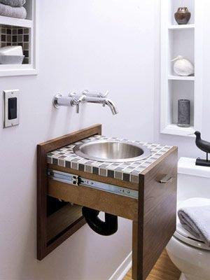 Фотография: Ванная в стиле Скандинавский, Декор интерьера, Квартира, Декор, Советы, раковина, раковина в ванной – фото на InMyRoom.ru