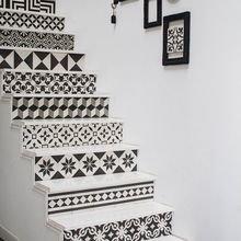 Фотография:  в стиле Кантри, Декор интерьера, Декор дома, Плитка, Ремонт на практике – фото на InMyRoom.ru