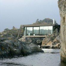 Фото из портфолио Вдохновение природой - ДОМ в НОРВЕГИИ – фотографии дизайна интерьеров на INMYROOM