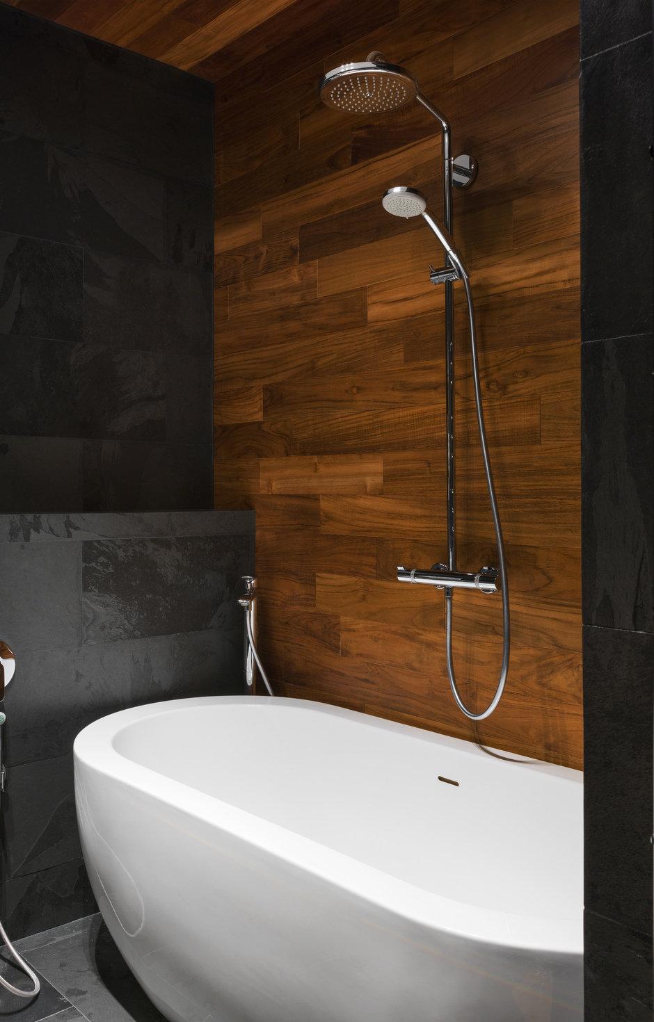 Фотография: Ванная в стиле Лофт, Современный, Квартира, Проект недели, Geometrium, Монолитный дом, 2 комнаты, 60-90 метров, ЖК «Сколковский» – фото на InMyRoom.ru