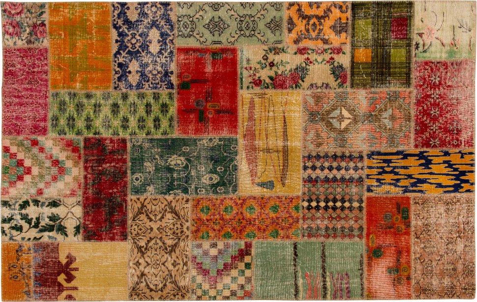 Купить Винтажный ковер Patchwork 200x300х, inmyroom, Турция