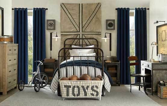 Фотография: Детская в стиле Лофт, Интерьер комнат – фото на InMyRoom.ru