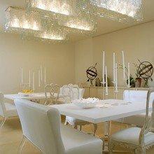 Фотография: Кухня и столовая в стиле Классический, Эклектика, Дом, Цвет в интерьере, Дома и квартиры, Белый – фото на InMyRoom.ru