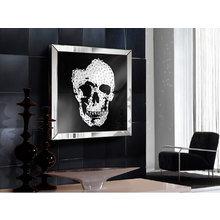 Зеркало Skull