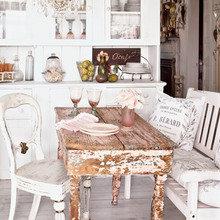 Фотография: Кухня и столовая в стиле Кантри, Скандинавский, Спальня, Декор интерьера, Декор дома, Свечи – фото на InMyRoom.ru