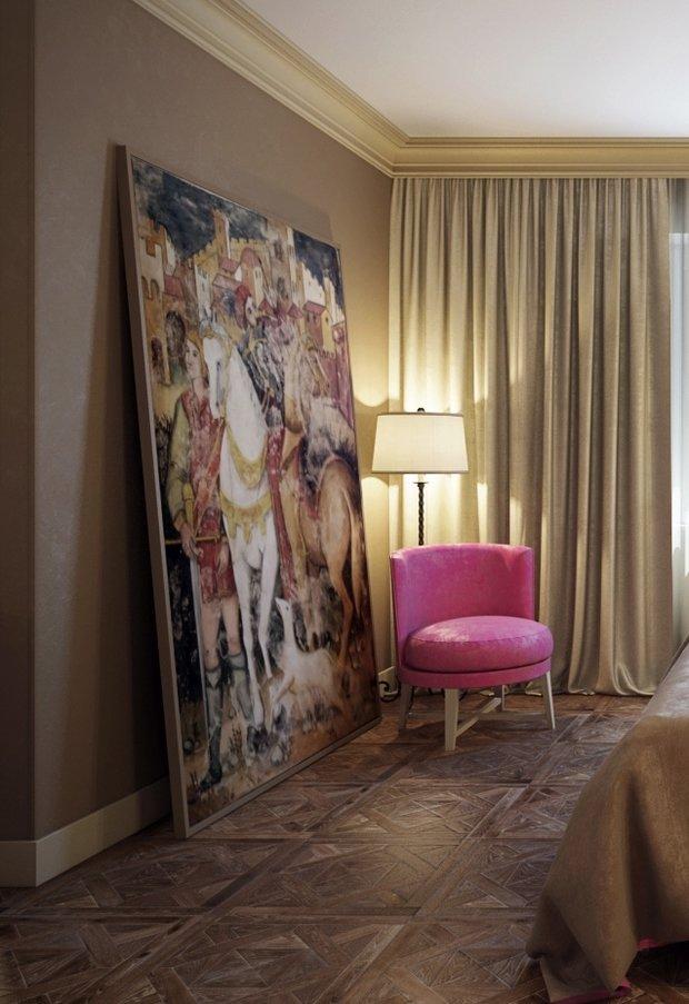 Фотография: Спальня в стиле Классический, Квартира, Интерьер комнат, Декор, Проект недели, Неоклассика – фото на InMyRoom.ru