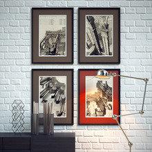 Фотография: Декор в стиле Лофт, Декор интерьера, Декор дома, Цвет в интерьере, Постеры – фото на InMyRoom.ru
