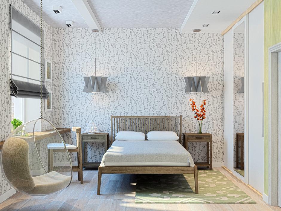 Фотография: Спальня в стиле Современный, Лофт, Квартира, Дома и квартиры, Проект недели, Москва – фото на InMyRoom.ru