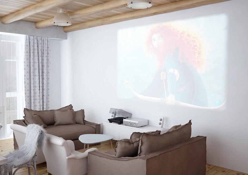 Фотография: Гостиная в стиле Лофт, Скандинавский, Квартира, Дома и квартиры, IKEA, Проект недели – фото на InMyRoom.ru