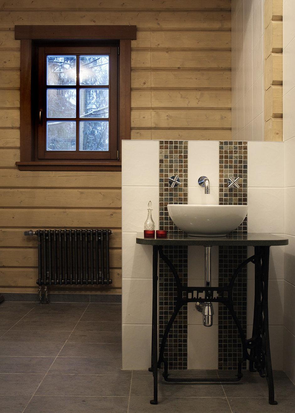 Фотография: Ванная в стиле Прованс и Кантри, Современный, Декор интерьера, Дом, Fabbian, Дома и квартиры, IKEA, Шале – фото на InMyRoom.ru