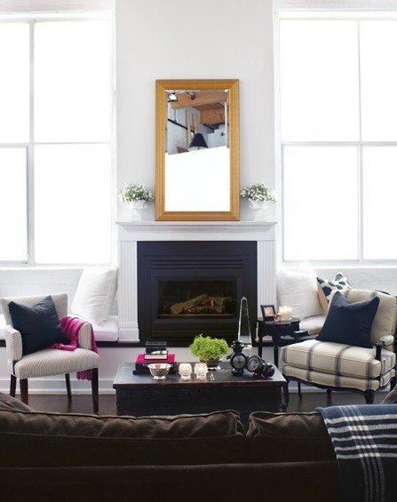 Фотография: Гостиная в стиле Прованс и Кантри, Декор интерьера, Малогабаритная квартира, Квартира, Дома и квартиры – фото на InMyRoom.ru