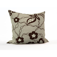 Диванная подушка: Гипюр