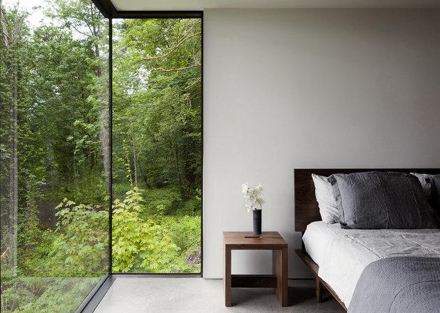Фотография: Спальня в стиле Современный, Эко, Дом, Архитектура, Ландшафт, Минимализм – фото на InMyRoom.ru