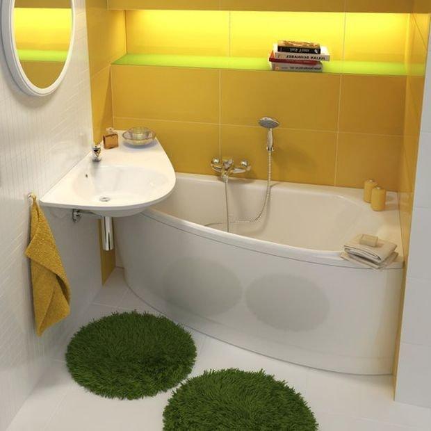 фото дизайн маленькие ванны