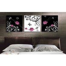 Модульная картина от дизайнера: Цветочный романс