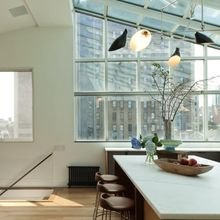 Фотография: Кухня и столовая в стиле Лофт, Современный, Квартира, Дома и квартиры – фото на InMyRoom.ru