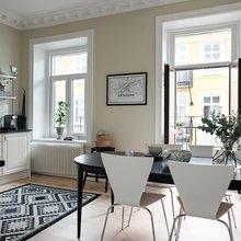 Фото из портфолио Kastellgatan 12 A, Linnéstaden – фотографии дизайна интерьеров на InMyRoom.ru