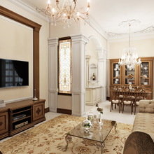 Фото из портфолио Студия в классическом стиле  – фотографии дизайна интерьеров на INMYROOM