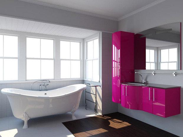 Фотография: Ванная в стиле Хай-тек, Интерьер комнат – фото на InMyRoom.ru