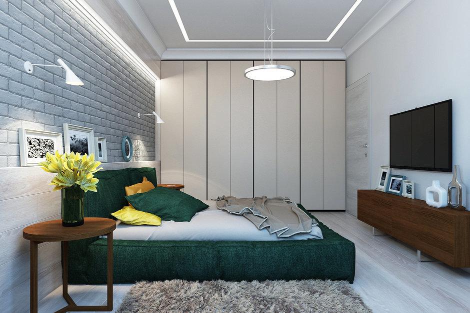Фотография: Спальня в стиле Лофт, Эклектика, Квартира, Минимализм, Проект недели – фото на InMyRoom.ru