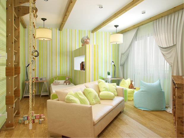 Фотография:  в стиле , Малогабаритная квартира, Советы, как визуально увеличить высоту потолков, идеи для малогабариток, как визуально приподнят потолки – фото на InMyRoom.ru