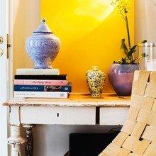 Фотография: Декор в стиле Кантри, Скандинавский, Декор интерьера, Квартира, Швеция, Дизайн интерьера, Цвет в интерьере, Белый, Черный, Желтый – фото на InMyRoom.ru