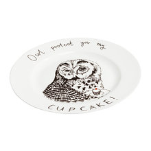 Тарелка Owl protect You My Cup Cake