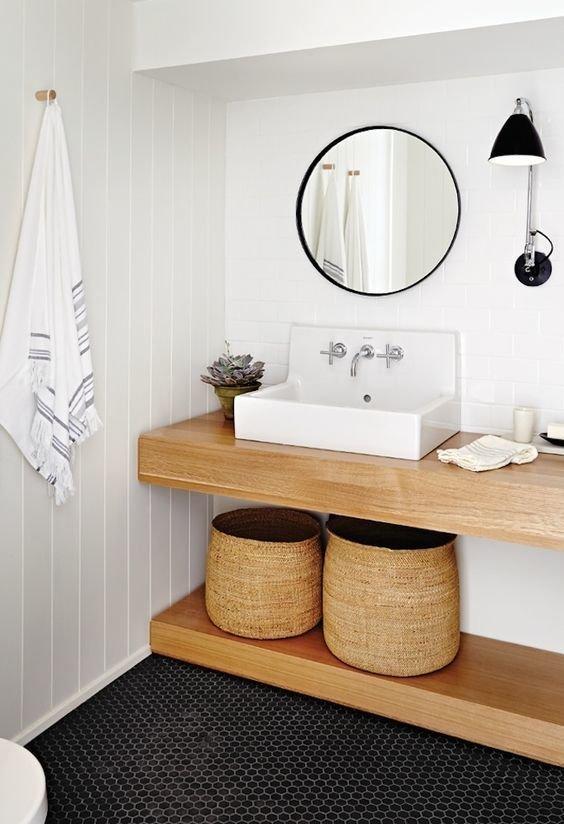 Фотография: Ванная в стиле Скандинавский, Декор интерьера – фото на INMYROOM