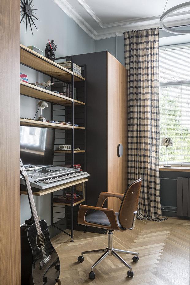 Фото из портфолио Квартира на Кутузовском – фотографии дизайна интерьеров на INMYROOM