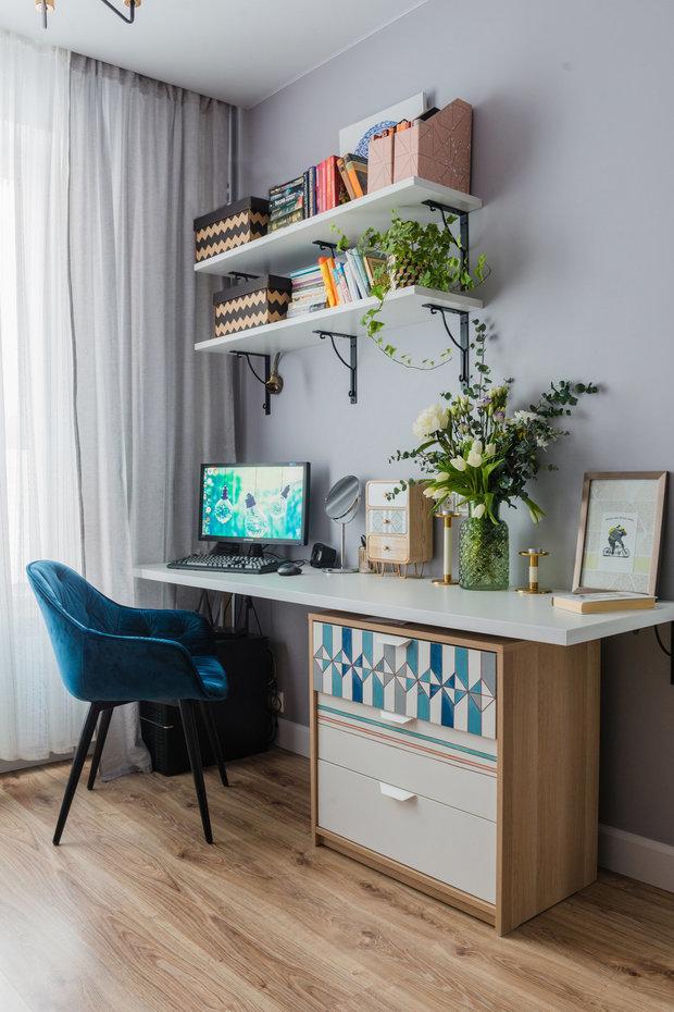 Фотография: Кабинет в стиле Современный, Квартира, Гид – фото на INMYROOM