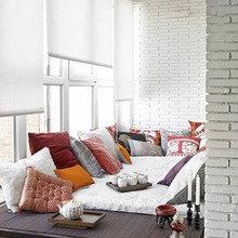 Фотография: Балкон, Терраса в стиле Восточный, Хранение, Стиль жизни, Советы, Мансарда, Подоконник – фото на InMyRoom.ru