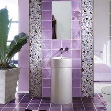 Фотография: Ванная в стиле , Декор интерьера, Дизайн интерьера, Мебель и свет, Цвет в интерьере – фото на InMyRoom.ru