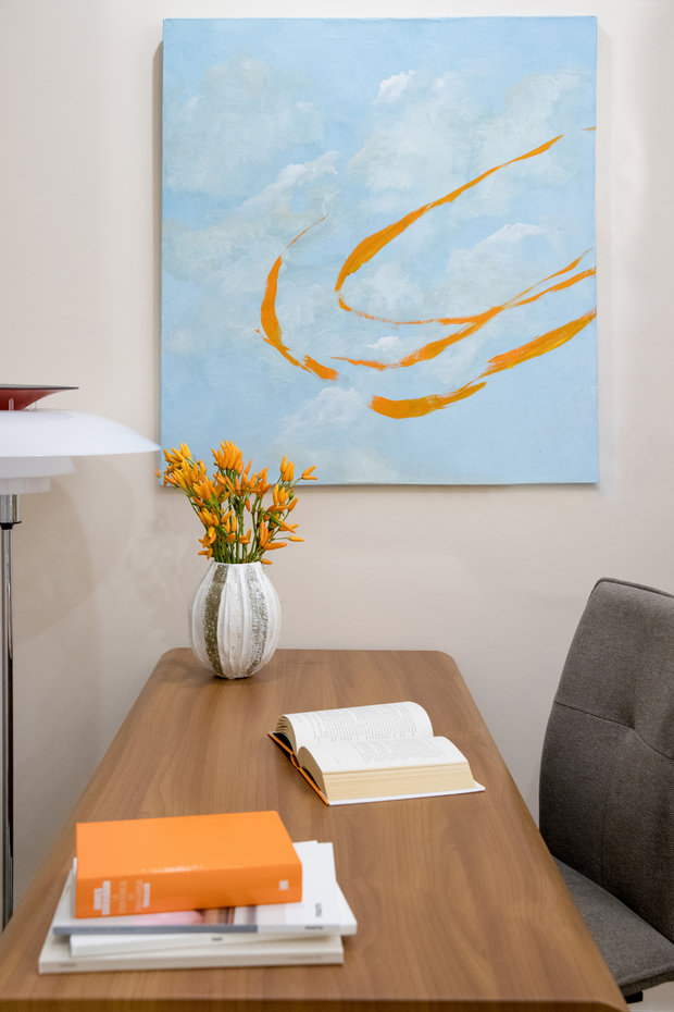 Фотография: Кабинет в стиле Современный, Квартира, Проект недели, Москва, 3 комнаты, 60-90 метров, Более 90 метров, Own Design – фото на INMYROOM