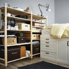 Фото из портфолио  IKEA : Крошечная спальня для двоих – фотографии дизайна интерьеров на INMYROOM