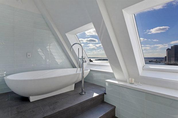 Фотография: Ванная в стиле Современный, Декор интерьера, Квартира, Дом, Дома и квартиры, Нью-Йорк, Пентхаус – фото на InMyRoom.ru