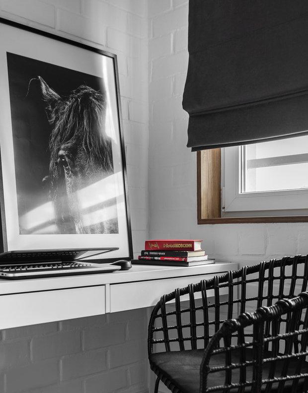 Фотография: Кабинет в стиле Современный, Квартира, Проект недели, Челябинск, 3 комнаты, Более 90 метров, Анна Важенина – фото на INMYROOM