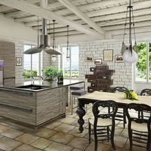 Фото из портфолио Кухня - гостиная – фотографии дизайна интерьеров на INMYROOM