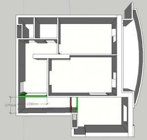 Перепланировка 2-х комнатной квартиры