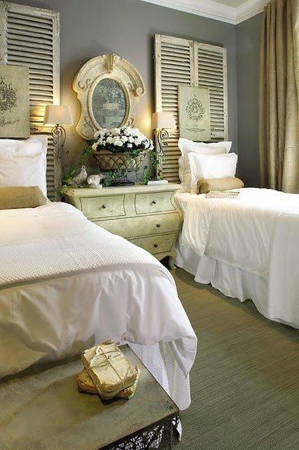 Фотография: Спальня в стиле Кантри, Классический, Современный, Декор интерьера, DIY, Дом, Декор дома – фото на InMyRoom.ru