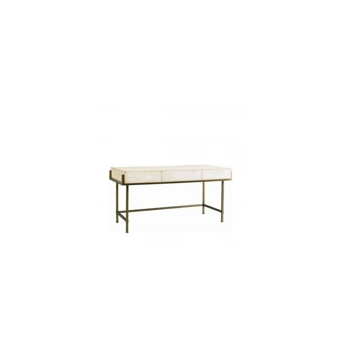 Стол Simone shagreen metal desk