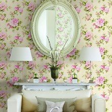Фотография: Мебель и свет в стиле Кантри, Гостиная, Интерьер комнат, Картины, Зеркало – фото на InMyRoom.ru