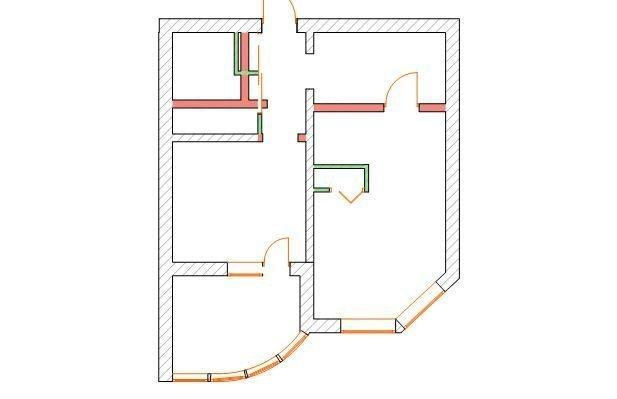 Фотография: Планировки в стиле , Лофт, Квартира, Проект недели – фото на InMyRoom.ru