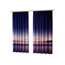 Оригинальные фотошторы: Ультрафиолетовое небо